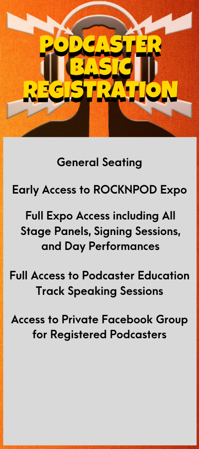 ROCKNPOD EXPO 2021 Podcaster Basic