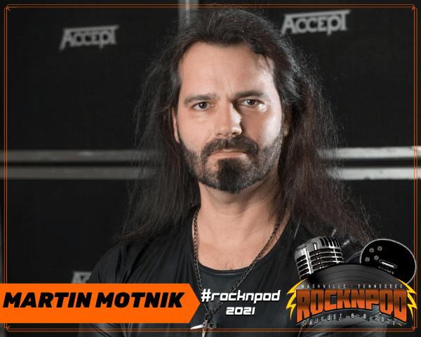 Martin Motnik ROCKNPOD Expo 2021