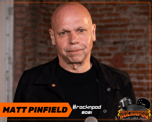 Matt Pinfield ROCKNPOD Expo 2021