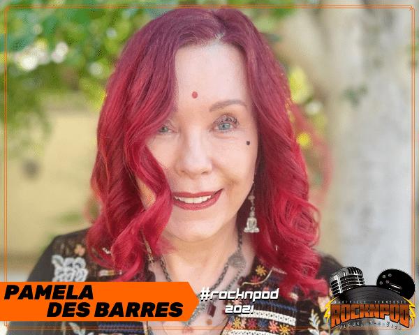 Pamela Des Barres ROCKNPOD Expo 2021