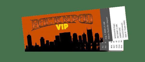 ROCKNPOD EXPO 2021 VIP Tickets