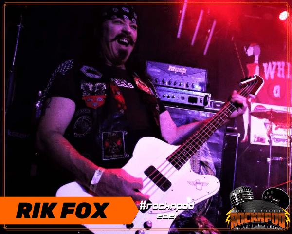 Rik Fox ROCKNPOD Expo 2021